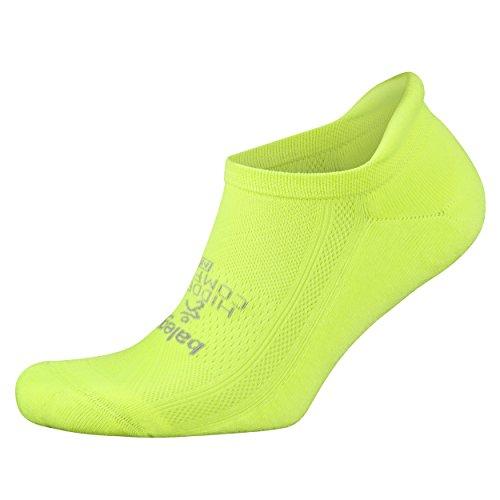 Balega Hidden Comfort No-Show Running Socks for Men and Women (1 Pair), Zest Lemon, Large