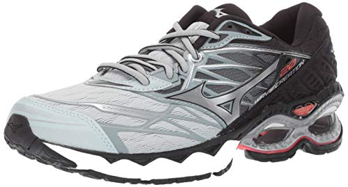 Mizuno Women's Wave Creation 20 Running Shoe, Sky Gray-Silver, 9 B US