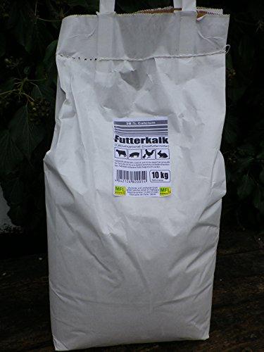 MFL Edderitz Futterkalk Kalk für alle Nutztiere 38% Calcium 10 kg Tragetasche (1x 10 kg)