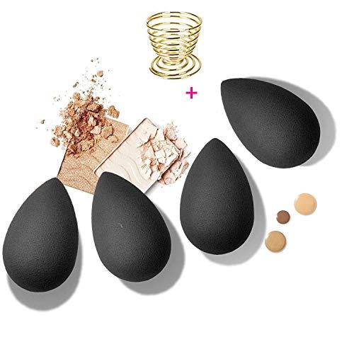 Choice Beauty 4 PCS Professional Makeup Sponge with Sponge Holder | Beauty Blender | Makeup Sponge Holder | Makeup Applicator