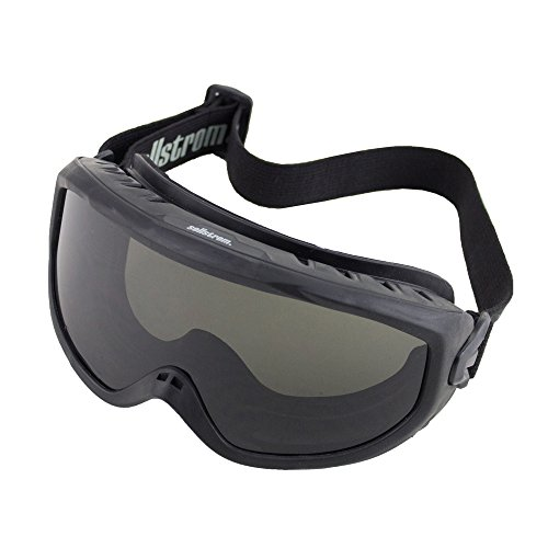 Sellstrom Comfortable, Non-Vented, Wildland Fire Goggle, Scratch-Resistant, Anti-Fog Coating, Smoke...