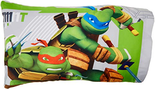 Green & Gray Ninja Turtle Pillow Cases