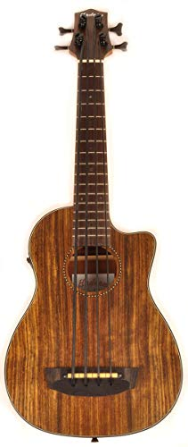 Hadean Acoustic Electric Bass Ukulele UKB-23C Cut-away Ubass