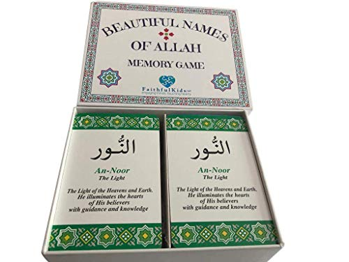 Beautiful Names of Allah Flash Cards and Memory Game. Learn The 99...