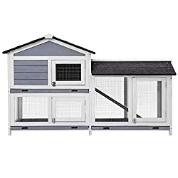 Best Outdoor Rabbit Hutch 2021 | TOP 7 Reviewed 3