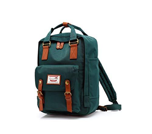 LIYULI Damen outdoor Rucksack Mode Schulrucksack für Mädchen Backpack Rucksack schulrucksack rucksäcke mit Laptopfach für Camping Outdoor Sport (Grün)