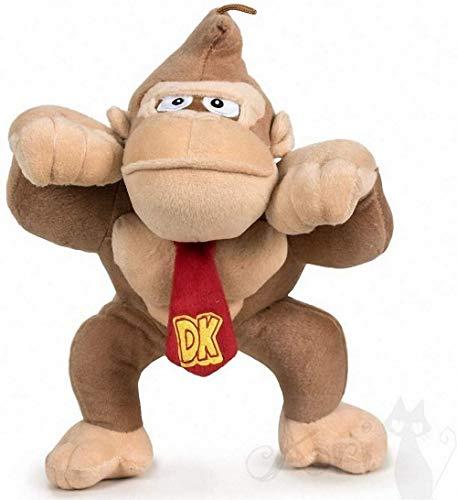 Peluche Gorila Donkey Kong 26cm de Super Mario Bros
