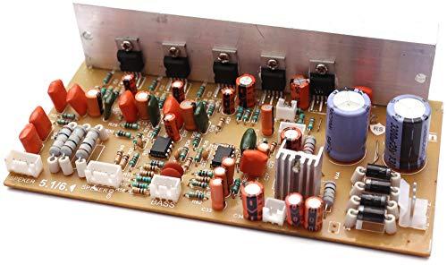 6.1 5 channel Home Theater Board, Audio Amplifier Board Kit 5.1-6.1 150W TDA 2030 SUPPORT