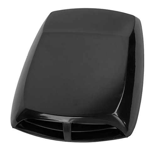 ZYHW Car Air Flow Intake Scoop Vent Cover Hood Check Pattern Black