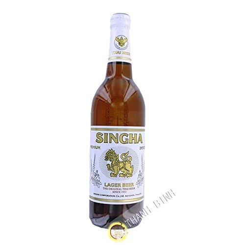 Birra SINGHA 630ml 5° Thailandia - Confezione da 3 pz
