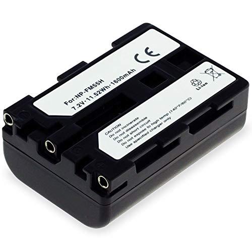 subtel® Batería NP-FM500H Compatible con Sony A77 II A7 II A99 II...