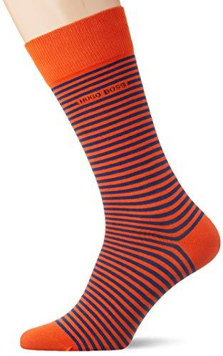 BOSS Herren Marc RS Stripe CC Klassische Socken, Medium Orange817, 43-46