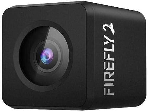 ETbotu,Action Kamera,Firefly Micro Cam 2 160 Grad 2.5K HD Aufnahme FPV Eingebauter Akku Geringe Latenz für RC Drone Car Flugzeug,
