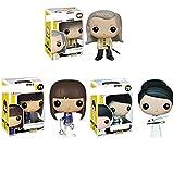 3Pcs Figuras Pop Kill Bill Vol.1 Gogo Yubari # 71 Bill # 69 O REN Ishii # 70 Figura De Acción 10Cm, Colección De Juguetes De PVC Muñecas Regalos para Niños