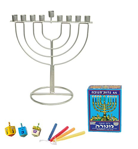 Set Tradition Dreidels Chanukah Hanukka Menora Beleuchtung Kerzen jüdischer Urlaub