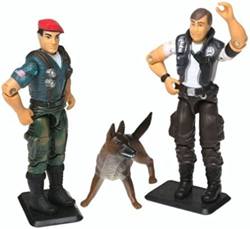 GI Joe 3.75  2-Pack with Dusty and Law & Order - A Real American Hero Collection by Hasbro