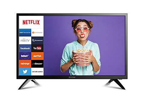DYON Smart 24 60 cm (24 Zoll) Fernseher (HD Smart TV, HD Triple Tuner (DVB-C/-S2/-T2), Netflix & HbbTV)