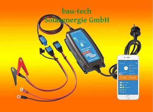 bau-tech Victron BlueSmart Batterieladegerät IP65 12/15 integriertes Bluetooth für alle Batterietypen 12V 15A