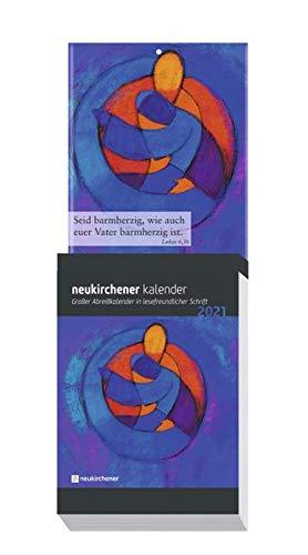 Neukirchener Kalender 2021 - Großer Abreißkalender in lesefreundlicher Schrift