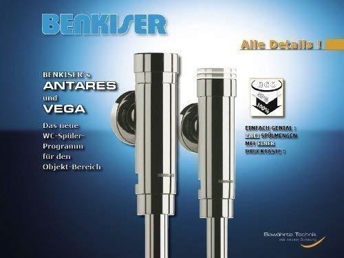Design WC- Druckspüler VEGA eco von Benkiser