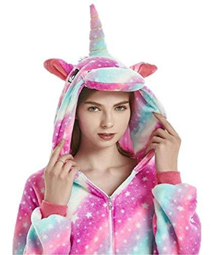 JXUFUFOO Pijama Unicornio Disfraz Adulto Unisex