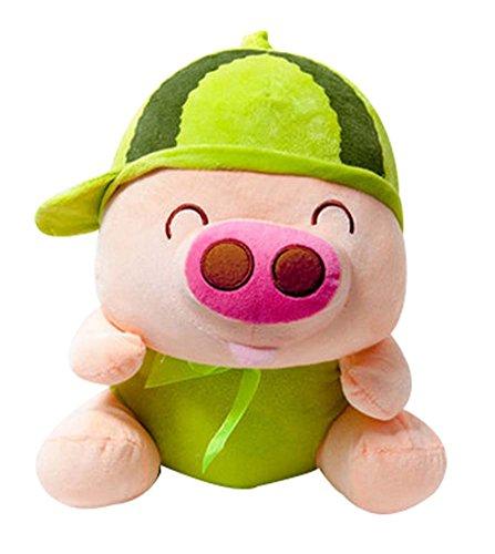 Lovely Poupée de Porc de Fruits Pillow Peluches McDull Doll Gifts Watermelon