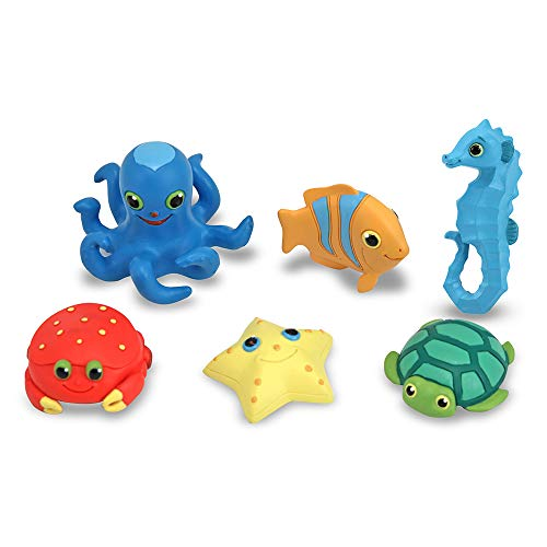 Melissa & Doug Seaside Sidekicks Sea Creatures Set