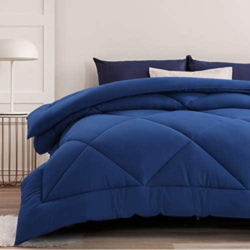 All Season Duvet Insert Queen Comforter Soft Quilted Down Alternative Duvet Insert Machine Washable product image