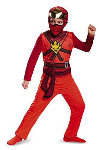 LEGO Ninjago Movie DISK98095G Kai Costumes, Boys, L