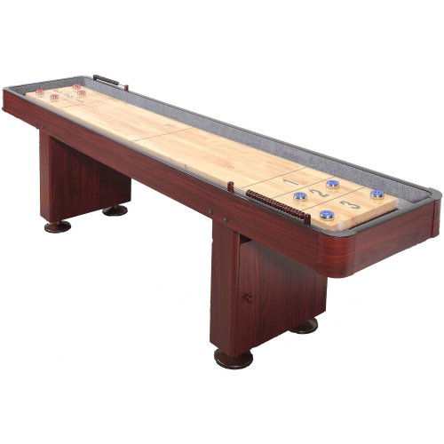 Carmelli Dark Cherry 9-Ft Shuffleboard Table