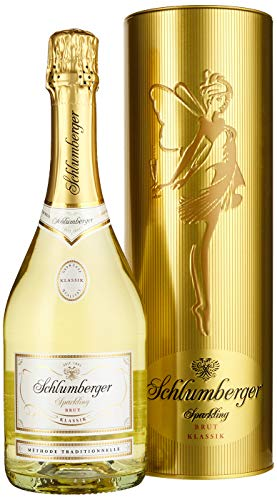 Schlumberger Sektkellerei Sparkling Brut Klassik 0,75l in der Geschenkdose Gold Limited Edition