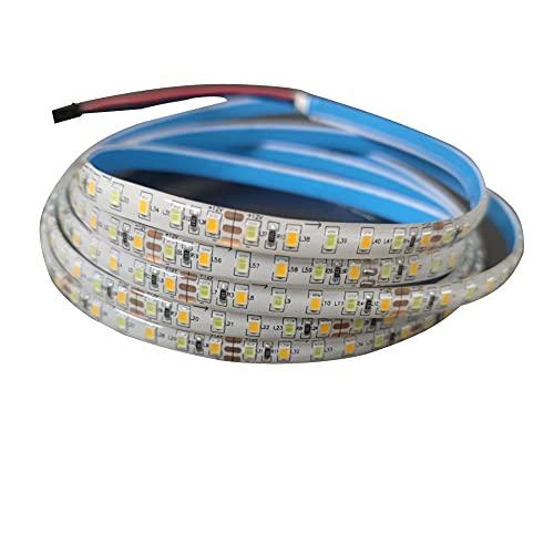 TBNB Parche superbrillante para Exteriores, Tira de luz autoadhesiva Adhesiva Flexible, 2 Paquetes * 5 m, Tira de luz LED, Tira de luz Larga para Exterior para Sala de...