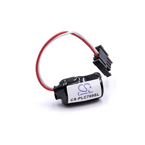 vhbw Li-MNO2 batería 1000mAh (3V) para controlador industrial, unidad de mando como...