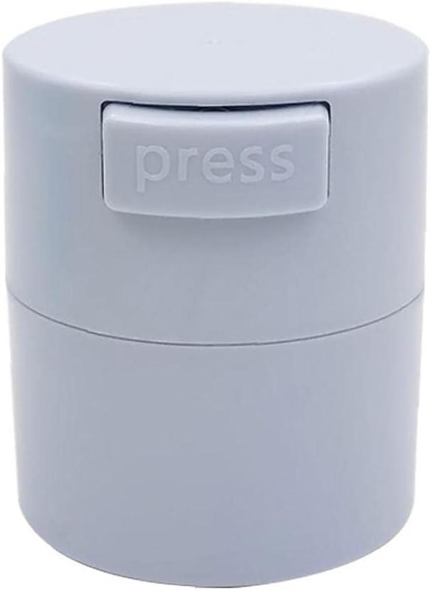 Storage Tank Eyelash Glue Tank Storage Container Glue Jar Box Adhesive Stand Carbon Sealed Storage Jar for Eyelashes Extension Makeup Tool Grey: Kitchen & Dining