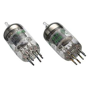 Montloxs 2PCS 5654W Electronic Tube Vacuum Tubes Replacement for 6AK5/6AK5W/6Zh1P/6J1/6J1P/EF95 Pairing Tube Amplifier DIY
