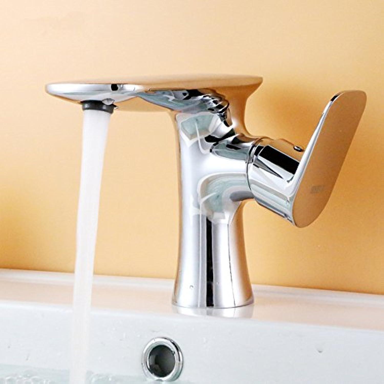 Bijjaladeva Wasserhahn Bad Wasserfall Mischbatterie Waschbecken Armatur für Abgesenkt Waschbecken Wasserhahn im Waschbecken Wasserhahn Handwaschbecken Wasserhahn Warmes und Kaltes