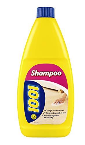 1001 - Champú para alfombras, ideal para limpiar alfombras y tapicería, limpieza profunda, 450 ml