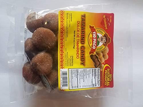 Tamarind Balls 100% natural Dulce De Tamarindo 6oz