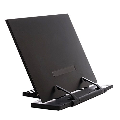 Adjustable Document/ Book Holder with Page Clips