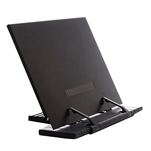 GoFriend Adjustable Portable Steel Ipad Document Book Stand Frame Reading Desk Holder Office...