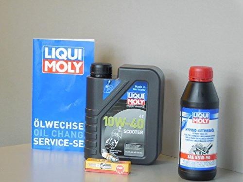 MotorFunSports Kit d'entretien SYM x-Pro 125 Service vidange huile d'inspection Bougie d'allumage