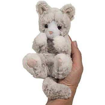 Douglas Gray Kitten Lil  Handful Plush Stuffed Animal