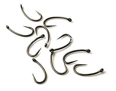 Generic 10 x Super Sha ng Hooks (Specimen Fishing Hooks) 10 x Super Sharp Barbless Size 8 Carp Fishing Hooks 10 x Super Sha (Specimen Fishi <6&27*1> from Generic
