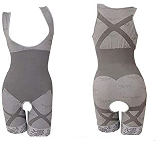 Natural Bamboo Slimming Suit For Women - Gray, XXX-Large