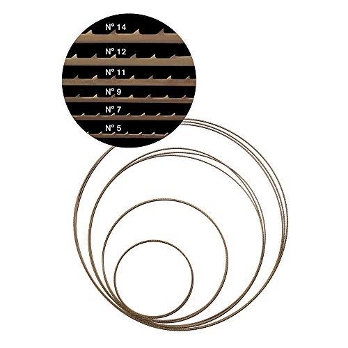 Pégas® Feinschnitt-Sägeband Nr. 12, 2375 x 2 mm, ZT 2,85 mm