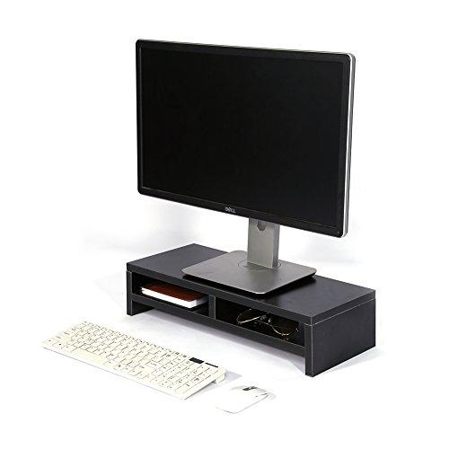 Cómoda Plataforma de Monitor, Elevador de Pantalla, Plataforma de Pantalla, Elevador de Monitor, para Estudiantes Que ahorran Espacio en el hogar Fácil de Instalar