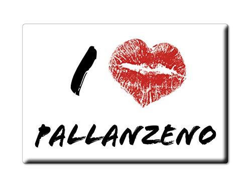 Enjoymagnets PALLANZENO CALAMITA Magnete Piemonte (VB) Italia Fridge Magnet Souvenir I Love (VAR. Kiss)