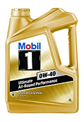 Mobil 1 0W-40 API SN Advanced Full Synthetic Engine Oil (4L),ExxonMobil Lubricants Private Limited,for Petrol/Diesel Cars, SUVs and Vans