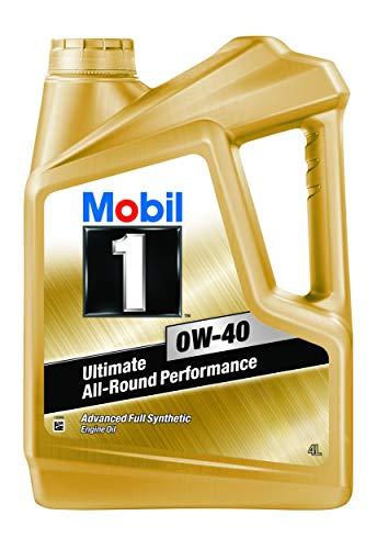 Mobil 1 0W-40 API SN Advanced Full Synthetic Engine Oil (4L)