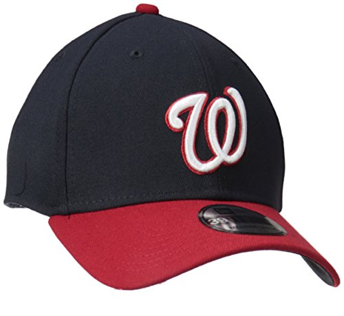 MLB Washington Nationals Team Classic Alternative 39Thirty Stretch Fit Cap, Blue, Medium/Large